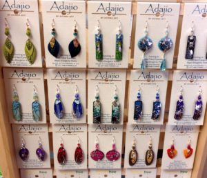 Earrings and other gift jewelry