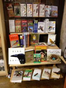 Field guides and nature books galore!