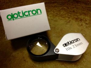 Optics including hand lenses, binoculars, monoculars