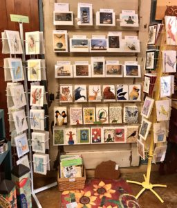 Unique greeting cards from local CA and PNW artists